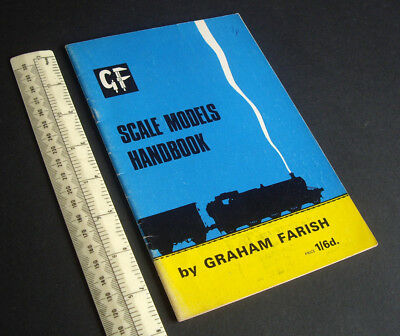 1950s/60s Graham Farish Scale Model Railway Handbook. 00 H0 Layout Guide. Belle Arti