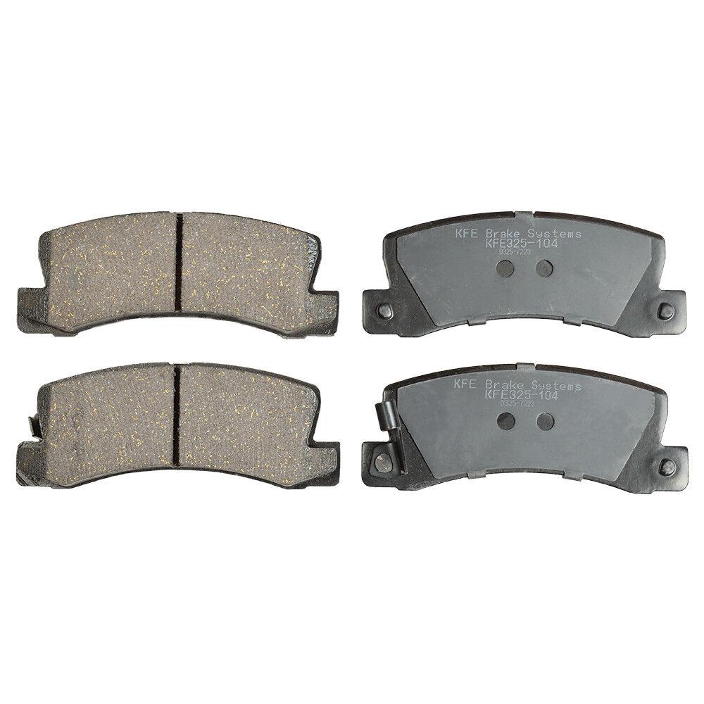Premium Ceramic Disc Brake Pad REAR Fits Toyota Camry Celica ES300 RX300 KFE325