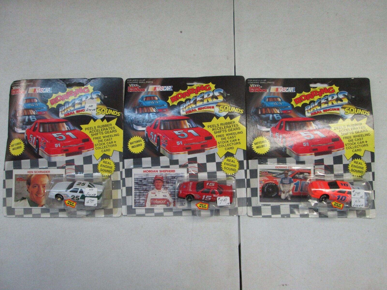 Racing Champions Roaring Racers Lot Lot Lot of 8 d14202
