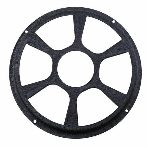 12 inch Diameter Car Audio Sub Woofer Speaker Grill Black Cover Decorative Black