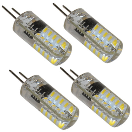 G8 Bi-Pin 40 LED Light Bulb SMD 3014 110V 2W Cool White Not Dimmable 1,2 or 4x