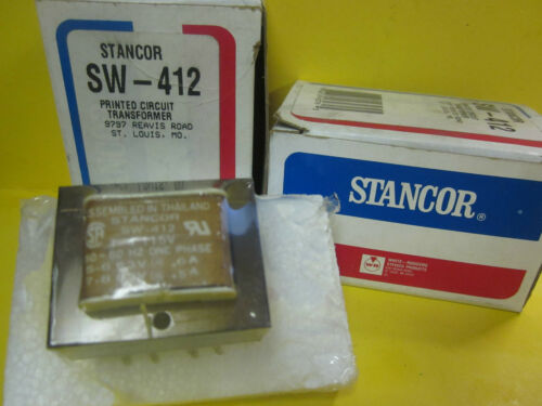 NEW STANCOR SW412 PRINTED CIRCUIT TRANSFORMER ..WG128