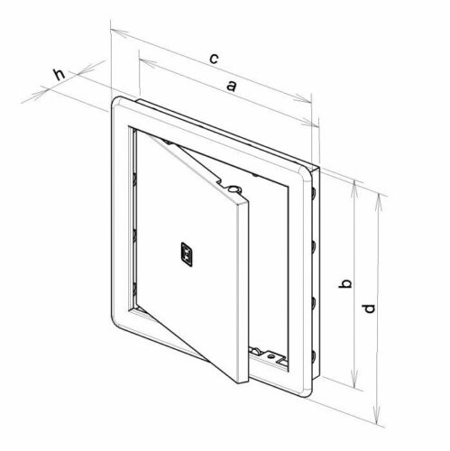 Access Panels Inspection Door Loft Hatch High Quality ASA Plastic /> ALL SIZES /<