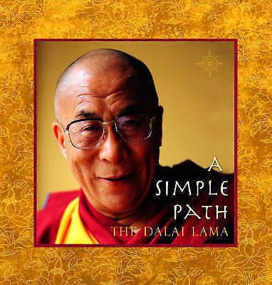 1 of 1 - A Simple Path: Basic Buddhist Teachings by Dalai Lama XIV (Paperback, 2002)