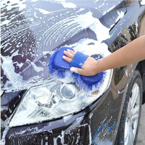 Microfiber Chenille Anthozoan Car Cleaning Sponge Towel Cloth Wash Supplies CF