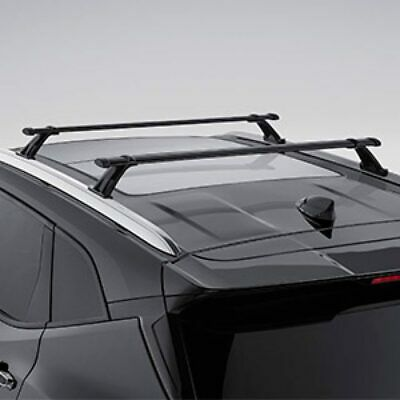 Kingcher 2 Pieces Cross Bars Fit for 2018 2019 2020 Chevrolet Traverse Black Baggage Luggage Roof Rack Crossbars