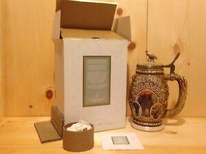 Vintage-Collector-AMERICAN-WILDLIFE-Avon-USA-Lidded-Beer-Stein-Gift-MUG