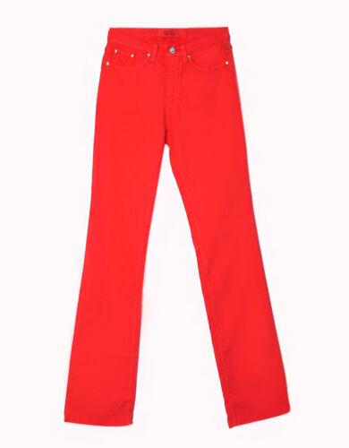 røde jeans dame
