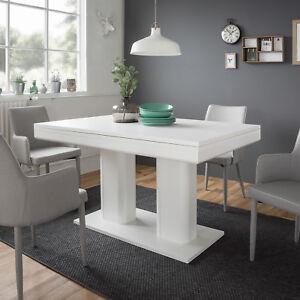 Das Bild Wird Geladen Esstisch Heidelberg Tisch  Weiss Ausziehbar 140 220x90 Cm