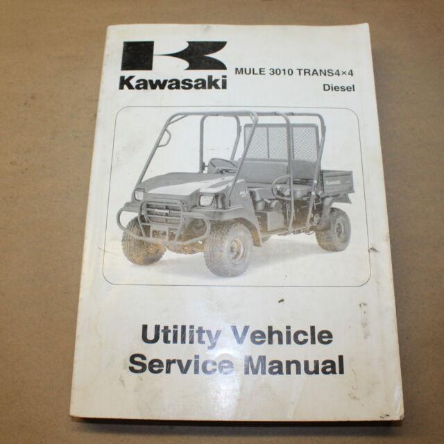 Kawasaki Mule 3010 Trans 4x4 Diesel Factory Service Manual