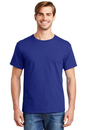 3,6 and 9 Packs Hanes 5280 ComfortSoft 100/% Cotton Heavyweight T-Shirt