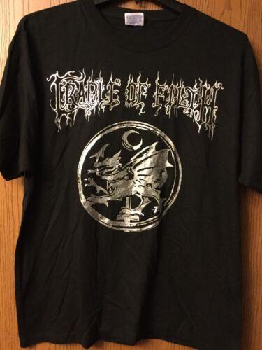 Cradle Of Filth   2005 Black Shirt.   Adult XL.