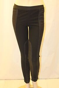NEW-BCBG-MAX-AZRIA-NIGHT-SAND-JACKSON-DENIM-PANELLED-LEGGING-LRV2C833-M879W-SZ-M