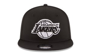 NEW-ERA-9FIFTY-SNAPBACK-HAT-NBA-LOS-ANGELES-LAKERS-BLACK