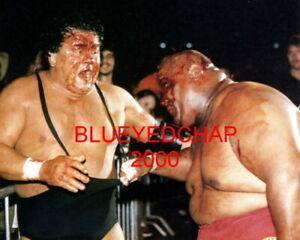 Wahoo Mcdaniel Vs Abdullah The Butcher Wrestler 8 X 10 Wrestling Photo Nwa Ebay