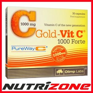 OLIMP GOLD VIT C Vitamin C 1000mg FORTE Antioxidant Immune System Booster Caps