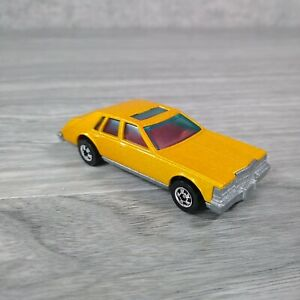 Vintage Hot Wheels Mattel 1980 Cadillac Seville Metallic Gold Hong Kong Die Cast