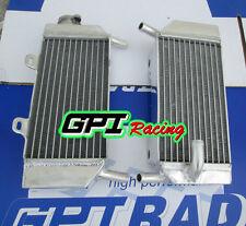aluminum radiator Honda CRF250R/CRF250X 2004-2009 2008 2007 2006