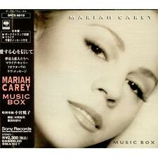 MARIAH CAREY JAPAN MUSIC BOX CD ALBUM Sony Records ‎– SRCS 6819