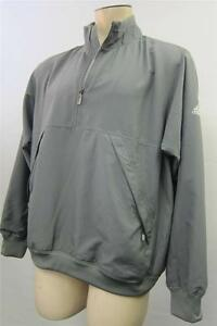 Men's Clothing Clothing, Shoes & Accessories Mens Thick Adidas Climawarm 1/2 Zip Lined Jacket Medium Wind Proof Lt Greenclean