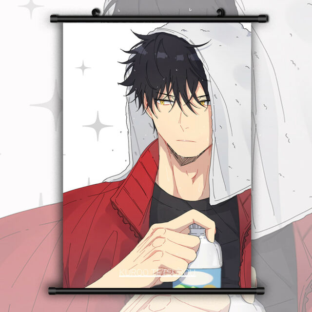 Haikyuu! Kuroo Tetsurou Anime Wallscroll Poster Kunstdrucke Bider Druck