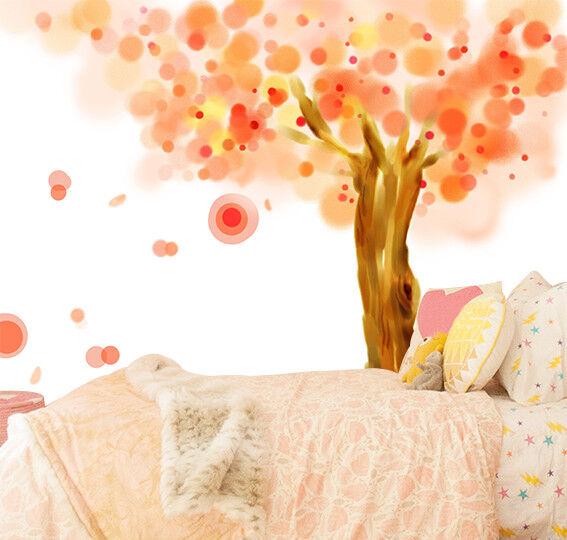 3D Gemalter Muster Baum 894 Tapete Wandgemälde Tapeten Bild Familie DE Jenny