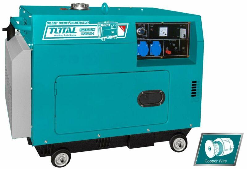 Total Silent Diesel Generator - 5KW