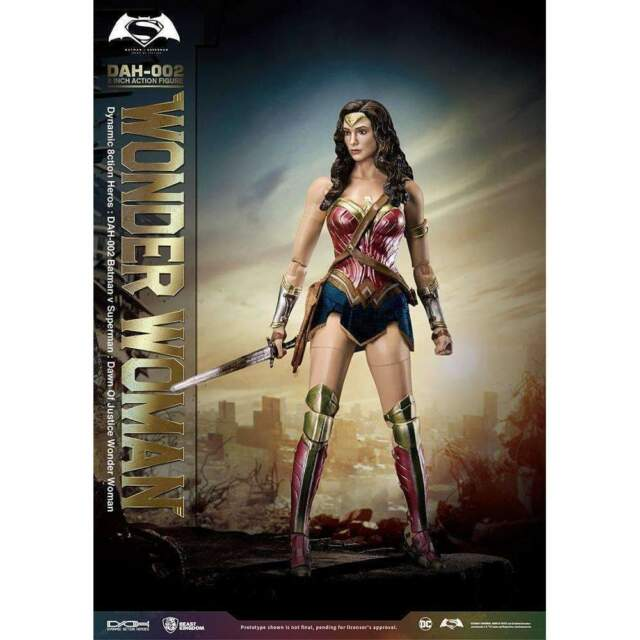 BATMAN V SUPERMAN DAH 002 DYNAMIC 8 CTION HEROES Wonder Woman Figure New