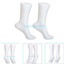 1pair Female Feet Foots Mannequin For Sandal Shoes Short Stocking Socks Display