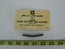 New Nos Ideal Replacement Blade L 7704 For 20 006 Hand Slotter Amp Scraper