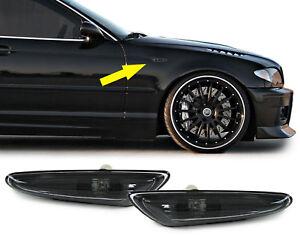 Seitenblinker-smoke-schwarz-Paar-fuer-BMW-3ER-E46-00-05-5er-E60-E61-03-10-X3-E83