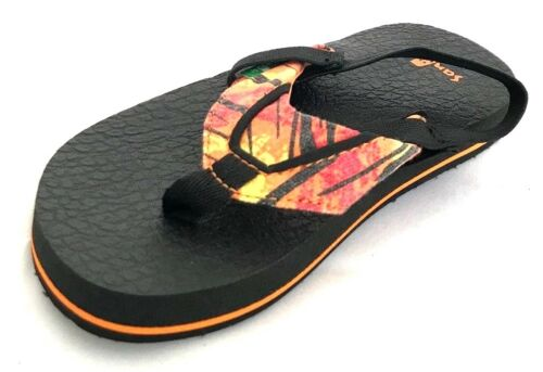 baa6cc5cd878 10 of 12 Sanuk Root Beer Cozy Funk Boys Toddler Flip Flops Sandals with Back  Strap 10