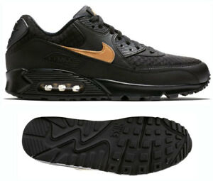 hot sale online 3c031 1a5a5 Image is loading New-NIKE-Air-Max-90-Essential-Mens-black-