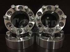 "4x 1.5""  6x5.5 Wheel Spacer Adapter 38mm 12x1.5 rim Studs 6 lug billet 6x139.7"