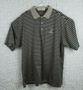 Fairway-amp-Greene-TPC-Louisiana-Men-039-s-Striped-Golf-Shirt-Size-Large