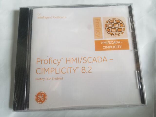 GE PROFICY HMI/SCADA-CIMPLICITY 8 2 SOFTWARE