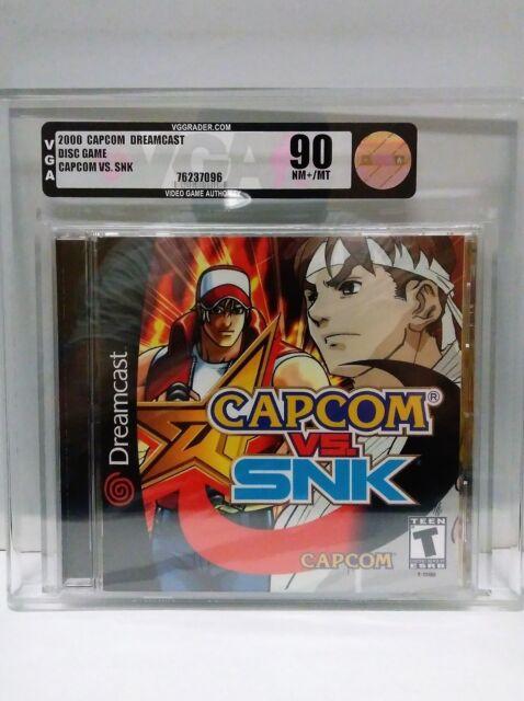 Dreamcast Capcom Vs SNK ***VHTF***