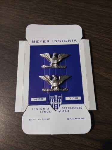 Colonel Navy//Army//USMC//USAF US Rank Insignia Meyers New