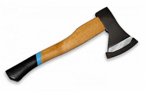 PROFI Beil 800 g Axt massiver Holzstiel Handbeil Hacke Hackel Forstbeil neu