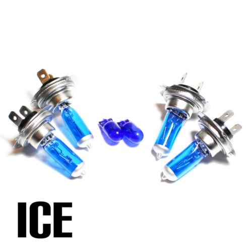 VW Passat B6//3C5 2.0 H7 H7 501 55 W Bleu Glace Xenon HID main//DIP//Side Light Bulbs