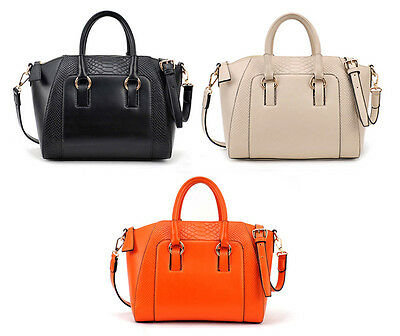 New Ladies Hobo Shoulder Bag Faux Leather Satchel Cross Body Tote Women Handbag