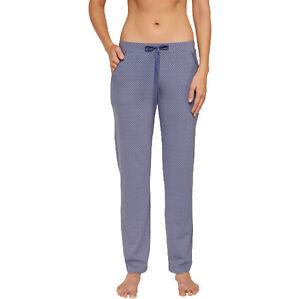 Schiesser Mujer Mix Relax Largo Pantalon Pantalones Jersey Talla 34 50 Xs 5xl Ebay