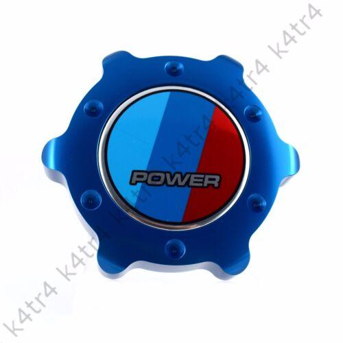 STYLISH BLUE ALUMINUM ANODIZED OIL FILLER CAP FITS BMW 3 4 5 6 7 M SERIES POWER