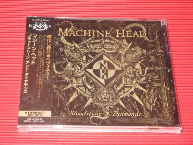 MACHINE HEAD Bloodstone & Diamonds JAPAN CD