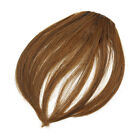 Lady Party Natural Clip on Bang Front Fringe only Hair extension Wigs Piece
