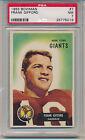 1955 Bowman Football Frank Gifford (HOF) (#07) PSA7 PSA