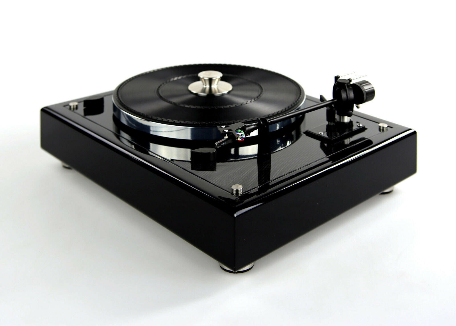 Image 1 - Restored & Modified Thorens TD 166 MKII Turntable Carbon Look