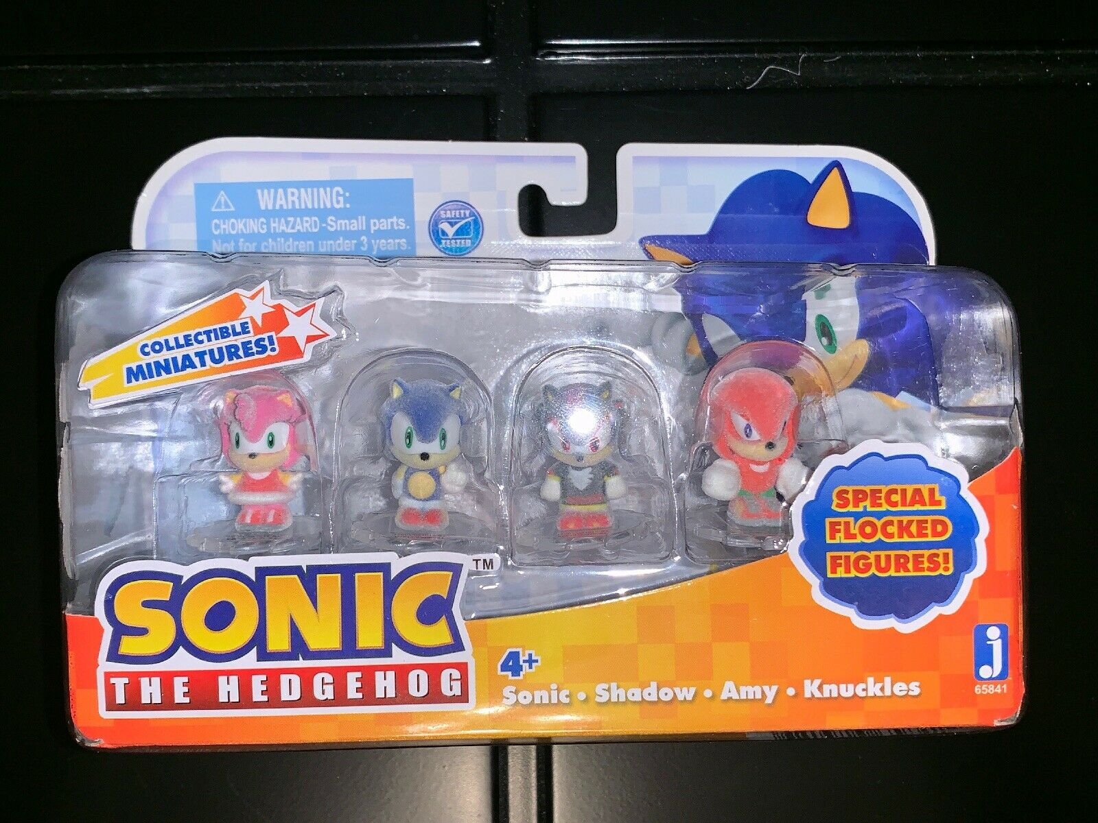 Sonic the Hedgehog specialee Sonic, Shadow, Amy, Knuckles Flocked 1 Mini Fig