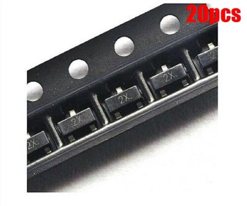 20Pcs MMBT4401 Npn Transistor De Commutation SOT-23 mr
