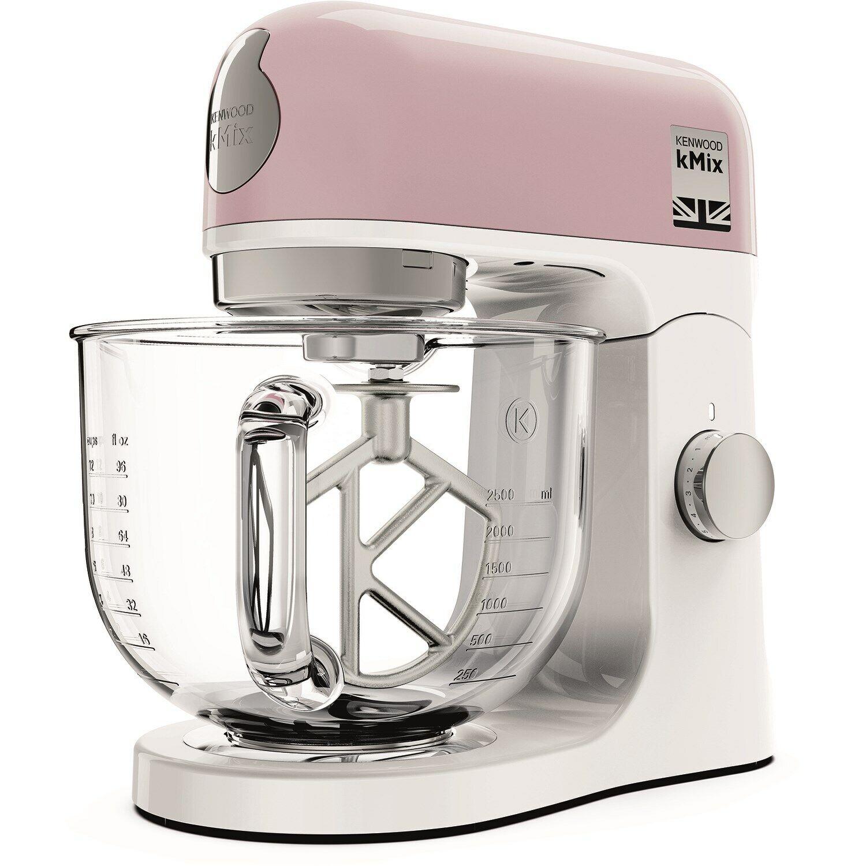 Image 3 - Kenwood KMX754PP K-Mix Stand Mixer - Pastel Pink
